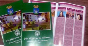 Maquetación patronato de estudios de alhameños