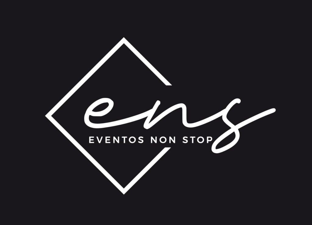 Logo Eventos NonStop_BN